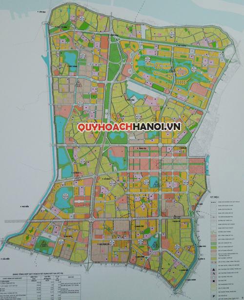 Bản đồ quy hoạch phân khu H2-1