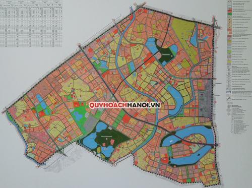 Bản đồ quy hoạch phân khu đô thị H2-1