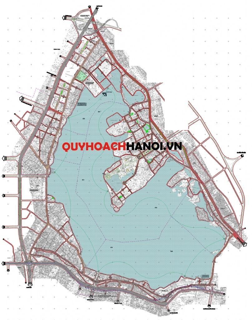 Quy hoạch giao thông phân khu A6
