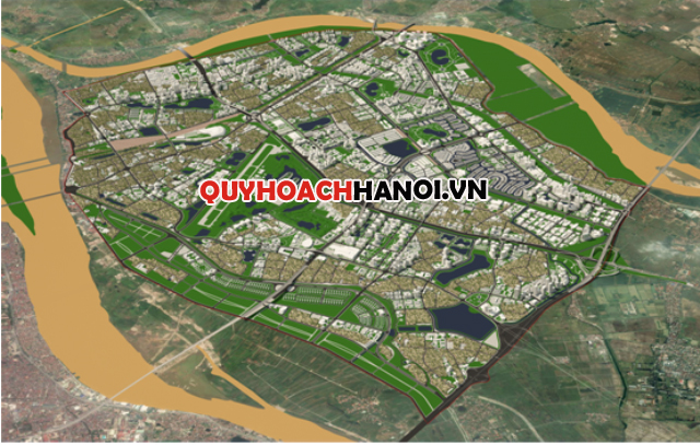 Phối cảnh bản đồ quy hoạch phân khu N10