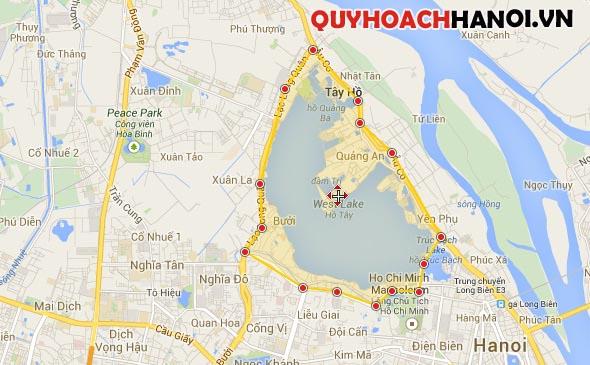 Vị trí quy hoạch phân khu A6