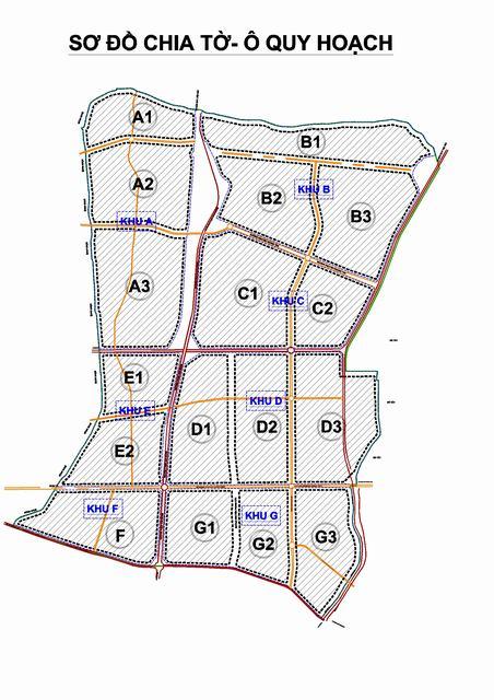 Sơ đồ chia tờ Bản đồ quy hoạch sử dung đất phân khu H2-1