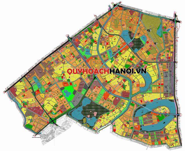 Bản đồ quy hoạch sử dụng đất phân khu H2-3