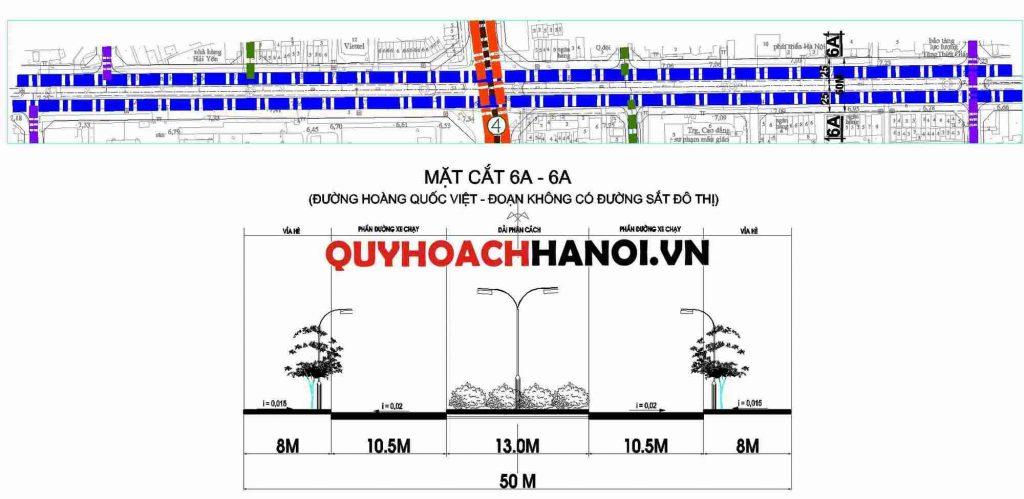 Ảnh bản đồ quy hoạch đường liên khu vực phường Nghĩa Tân quận Cầu Giấy